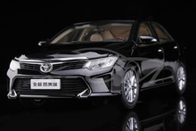 Diecast Car Model All New Toyota Camry 2015 1:18 (Black) + SMALL GIFT!!!!!