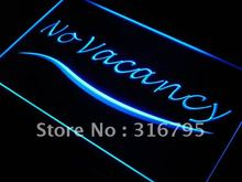 s128 No Vacancy Hotel Motel Room LED Neon Light Sign On/Off Switch 7 Colors