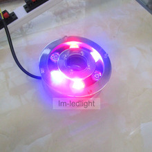 led spa lighting 12V 5W 6W IP68 aquarium led lighting white RGB yellow blue red led light pool free ship 10pcs(China)