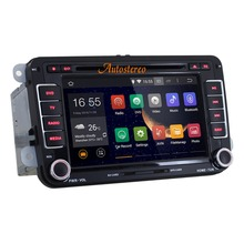 The Latest Quad-core Andriod 5.1.1 Car DVD Player For Volkswagen Polo Touran Jetta Golf WIFI GPS BT 3G
