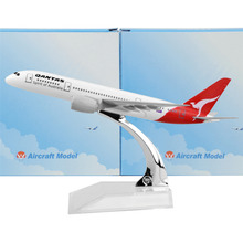 Australia Qantas Airways Boeing 787 16cm model airplane kits child Birthday gift plane models toys  Christmas gift