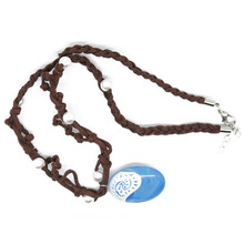 Moana Ocean romance Rope chain necklaces blue Stone necklaces & pendants necklace for women female jewelry
