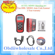 2016 Highly recommend professional Autel MD-801 code scanner pro md801 4 in 1 scan tool MD 801 maxidiag with fast delivery