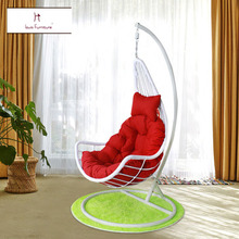 chair swing chairs single soft outdoor cradle Rocking chair hot sales best price Recreational balcony Hanging basket(China)