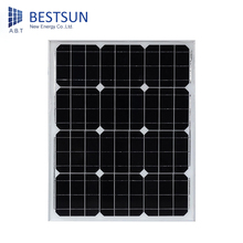 BS-50W 12v mono Foldable solar panel cell Portable, price per watt solar panels for apartments installation ABTSOLAR BESTSUN(China)