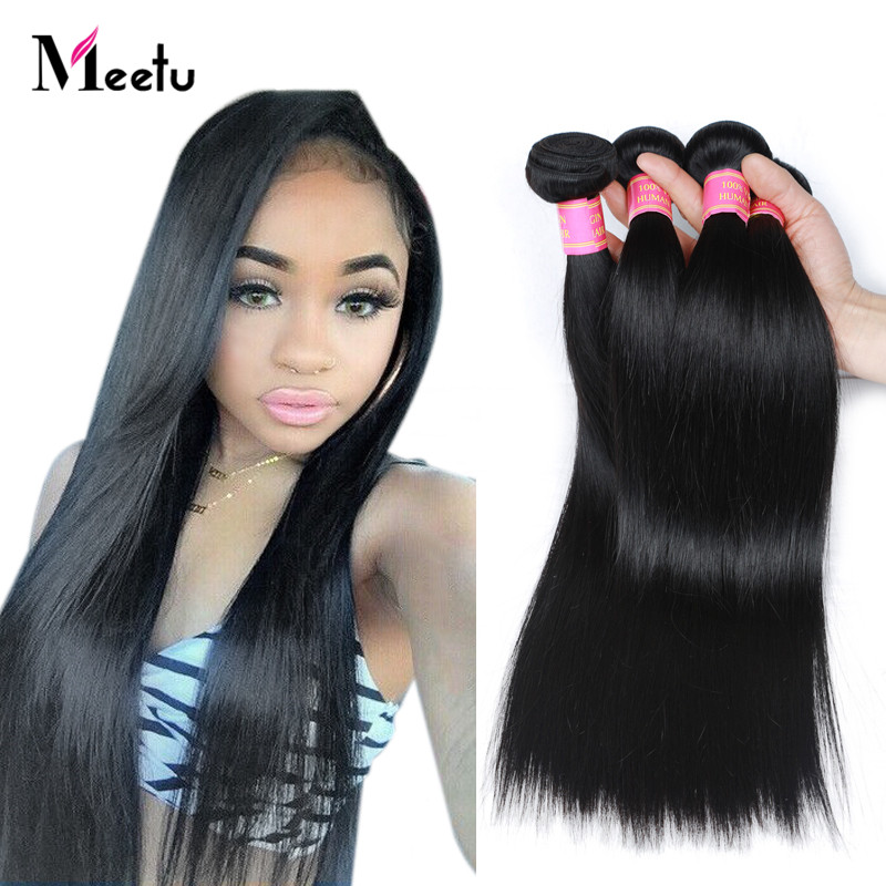 5 Bundle Deals Indian Straight Hair 8-28 True Length Indian Virgin Hair Straight 2017 New Style Soft Straight Human Hair Weave<br><br>Aliexpress