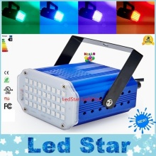 Free Shipping 24W Led Laser Lighting Mini 36pcs 5050 Led Stage Light DJ Strobe Flash Club Party Disco Strobe Light
