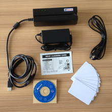 MSR900S All 3 Tracks HiCo/LoCo Magnetic stripe Encoder Magnetic Card Reader Writer