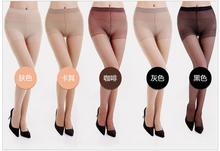 Buy 2017 Hot Women Sexy Pantyhose Autumn Nylon Tights 5D Velvet Candy Color Stockings Step Foot Seamless Collant Female