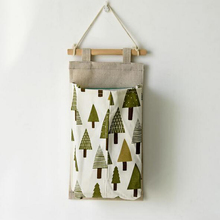 Tree Hedgehog bear Wall Door Sundry Fabric Cotton Tissue pumping Pocket Hanging Holder Storage Bags Rack organizer storage Bag