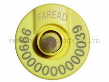 Free Shipping 134.2KHz  LF RFID tags Animal ear tag for livestock management  ISO Standard