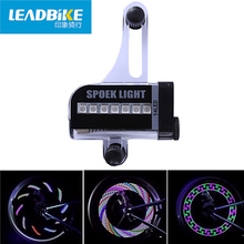 LEADBIKE Mountain Bike Led Lamp Wheel Spoke Bicycle Light 30 Kinds Of Pattern Switching Luz Bicicleta Ciclismo Accesorios Bici