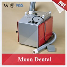 Dental Lab Equipment Low Noise AX-MX800 Dental Vacuum Dust Extractor with Foot Switch for Dust Extraction in Dental Labs(China)