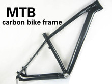 Cheapest 29er mtb bike frame full carbon bicycle disc brake frame clear coating bike frame seat tube 31.6/34.9mm