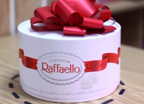 Торт рафаэлло 600 гр