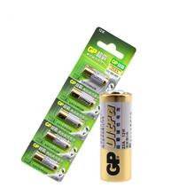 Wholesale 5pcs/lot New 12V GP A23 23A Ultra Alkaline battery/alarm batteries Free Shipping(China)