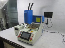 LY 1001 automatic iphone chip remove machine, IC removal router, cnc milling machine with CCD system and vacuum cleaner