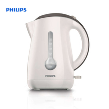 Philips Viva Collection Kettle 1.7 L 2400 W 1 cup indicator Cashmere grey Hinged lid HD4677/50