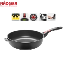 Deep frying pan with non-stick coating and detachable handle 28 cm NADOBA series VILMA