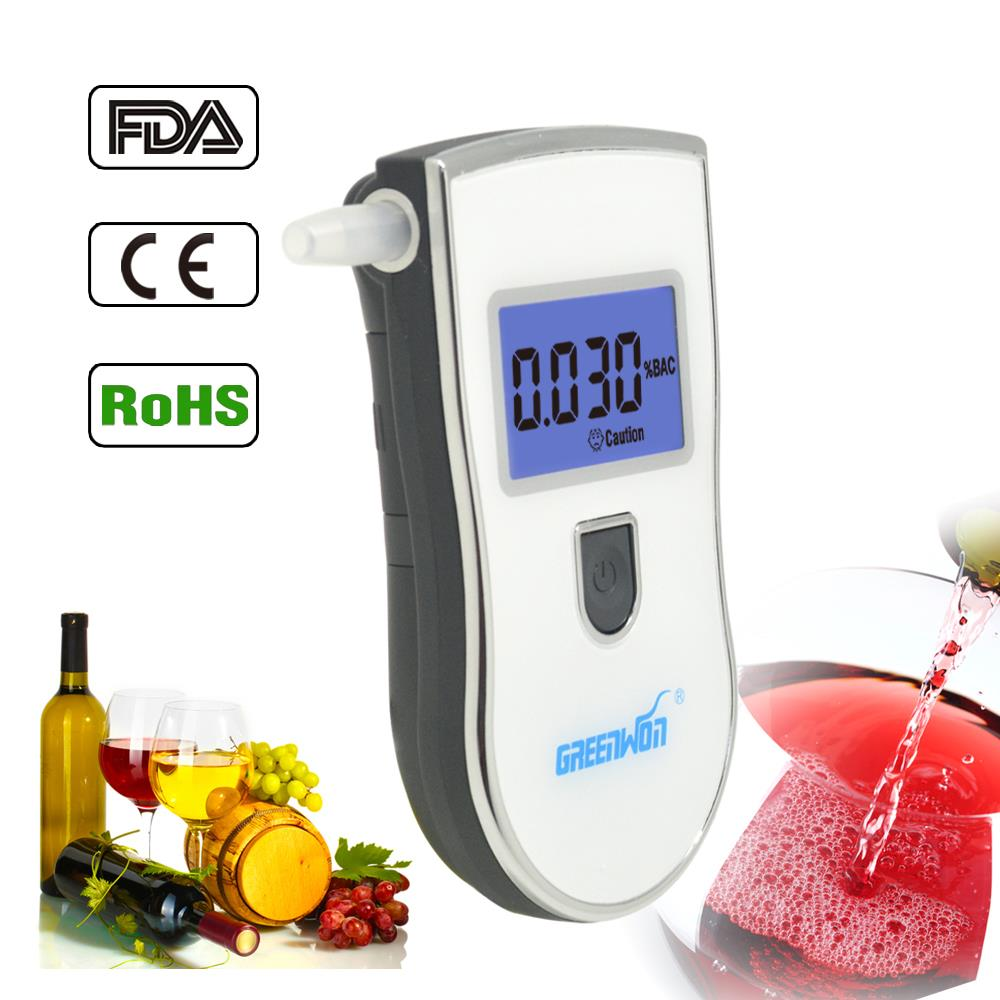 HOT Selling New Arrival Popular Patent Right Alcohol Tester Breathalyzer With High Precision Car Detector Gadget(China (Mainland))