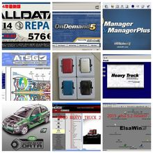 All data 2017 Hot sale!alldata auto repair software alldata and mitchell software 2015+ATSG+ELSAWIN+Vivid Workshop 8 in 1tb hdd