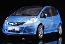 Diecast Car Model Honda Fit 1:18 2011 (Blue) + SMALL GIFT!!!!!!