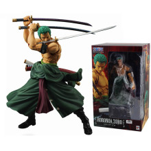 18cm PVC One Piece Roronoa Zoro Action Figure Toys, Roronoa Zoro One Piece Figure Model, Anime Brinquedos, Toys For Collection