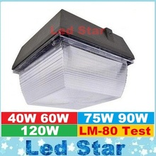 For Gas Station Lighting LED Canopy Lights 40W 60W 75W 90W 120W LED Flood Light Outdoor Lighting Flodlights AC 110-277V