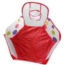 Hot Sale Pop up Hexagon Dot Children Ball Play Pool Tent Carry Tote Toy pool balls inflatable childrens tents barraca infantil(China)