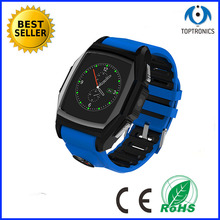 2015 best selling IP57 GPS Bluetooth Smart Watch Men' Sports Watches wristwatch with SIM Heart Rate for Android Smart Phone(China)
