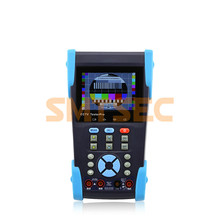 "Wire Tracker TDR CCTV Tester 3.5"" Testing Monitor 10x zoom video image Smart Security CCTV Camera Tester  (HVT-6202T)"