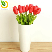10PCS Decorative Flowers Simulation Of Tulips Wedding Decoration Flower Silk Flower Home Decorations Festival Products(China)