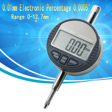 "0-12.7mm/0.5"" Digital Dial Indicator 0.01mm/0.0005"" Electronic dial indicator Gauge Meter  Measuring Instruments Data Output"
