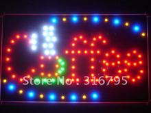 led009-r Coffee Cup Cafe LED Neon Business Light Sign Wholesale Dropshipping