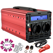 LCD dispaly inverter 12v 220v 2000w (peak power 4000w) ,off grid modified sine wave power inverter for camping,home,school