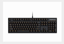 100%Original Steelseries APEX M260 Orange/Blue Backlit Double Shot Keycap 26 N K Rollover Mechanical Keyboard