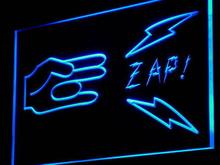 i923 Shocker Zap! Funny Sex Porn Decor Decor Neon Light Sign On/Off Swtich 7 Colors