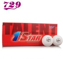 20 balls 729  New material 1- star 40mm+ Pingpong Balls Table Tennis Balls Official balls of World Game 82014