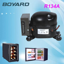 Zhejiang boyard R134A 12 volt refrigerator compressor QDZH25G replace bd35 for Solar Powered Household Refrigerator