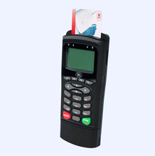 Programmable Contact Portable Handheld Device/Smart Memory IC Card Reader with PIN-Pad suppport ISO 7816 Cards(China)