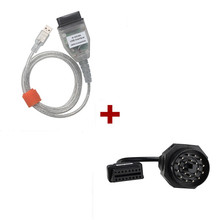 For BMW INPA/Ediabas OBD & ADS Interface OBD1 20pin connectors as well as 16pin OBD2