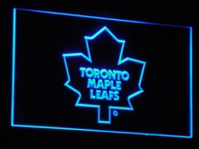 b103 Toronto Maple Leafs Bar LED Neon Sign with On/Off Switch 7 Colors to choose