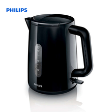 Philips Daily Collection Kettle 1.6 L 2400 W Water level indicator Black Hinged lid HD9300/90