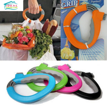Creative Easy Shopping Grocery Bag Grips Holder Handle Grip Carrier Saving Tools Family Household(China)