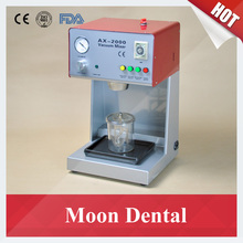 Variable Speed Dental Lab Equipment AX-2000B Vacuum Mixer with Built-in Vacuum Pump with CE Certificate