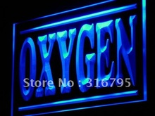 i997 Oxygen Supplies Shop Display Lure LED Light Sign On/Off Switch 7 Colors