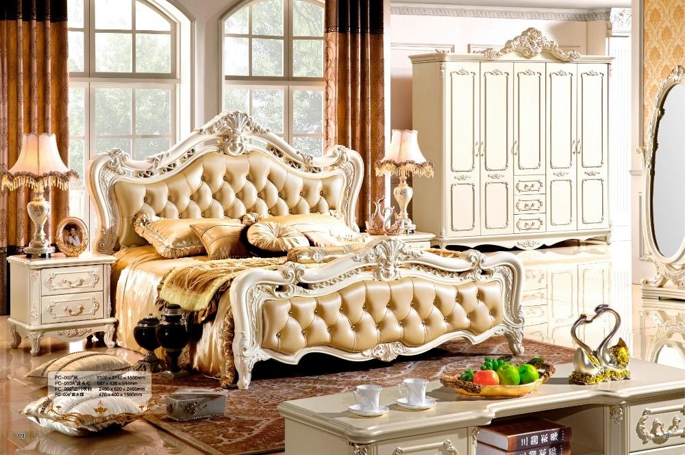 Latest Bedroom Furniture Design Modern Classic Furniture Priness Bedroom  Furniture Set 0407 001
