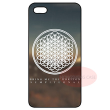 Bring Me the Horizon Logo Cover Case for LG iPhone 4S 5 5S 5C 6 6S Plus iPod Samsung S2 S3 S4 S5 Mini S6 Edge Plus Note 2 3 4 5