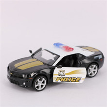 1:36 Scale Diecast ABS Police Cars Models, Alloy Simulation Pull Back Police Cars Toy, Toys For Collection, Kids Toy / Brinquedo