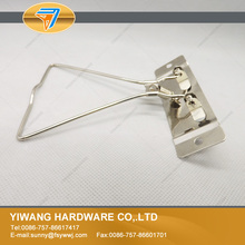 Nickel plating collection clip for office ring binder mechanism durable files classification